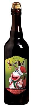 Biere France Normandie Ambree Folies De Noel 0.75 6.8% Nouvelle Recette