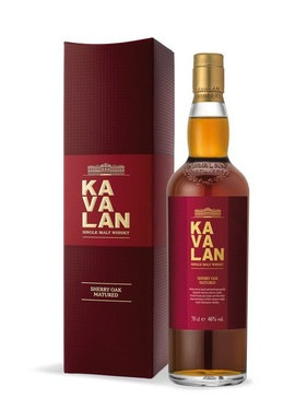 Whisky Taiwan Single Malt Kavalan Ex-sherry Oak 46% 70cl