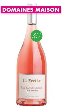 Cotes Du Rhone Rose Les Cassagnes De La Nerthe 2019 Bio