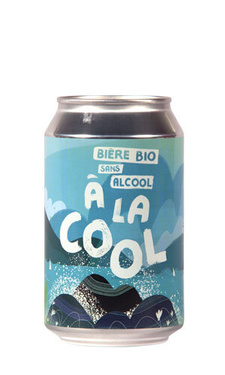 Biere France Normandie Brasserie De Sutter A La Cool Bio Ss Alcool 33cl B.métal