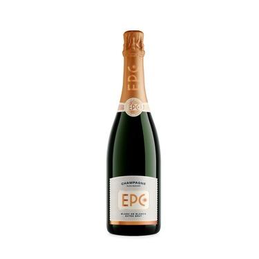 Champagne Epc Blanc De Blancs Extra Brut
