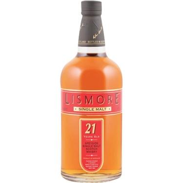 Whisky Ecosse Single Malt Lismore 21 Ans 43% 70cl